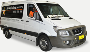 First Choice Couriers Van